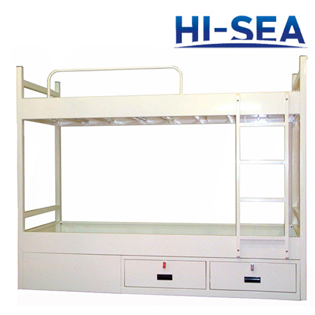 Marine Galvanized Steel Bunk Bed