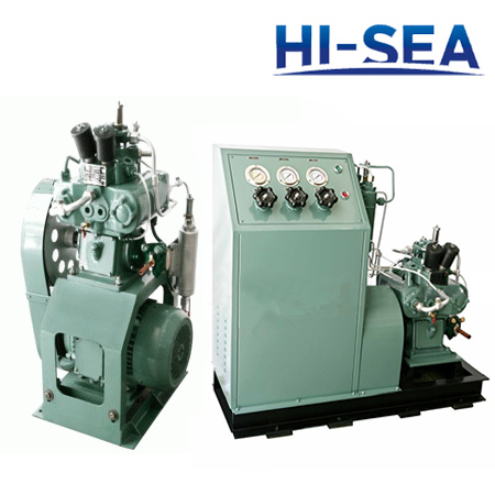 Marine High Pressure Water-cooled Series Air Compressor