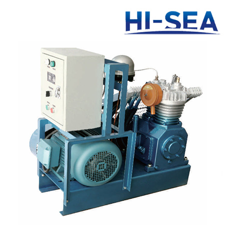 Marine Horizontal Medium Pressure Air-cooled Air Compressor