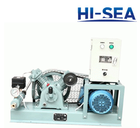 Marine Low Pressure Air-cooled Series Air Compressor with Automatic Control Unit
