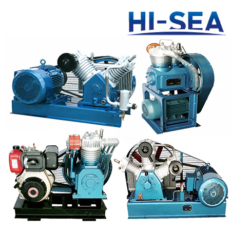 Marine Medium Pressure Air-cooled Series Air Compressor