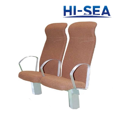 Marine Passenger Seats with Adjustable Backrest