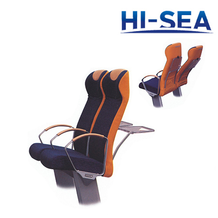 Marine Passenger Seats with Table Board