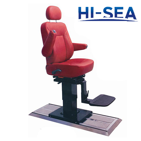 Marine Pilot Seat with Lifting Column