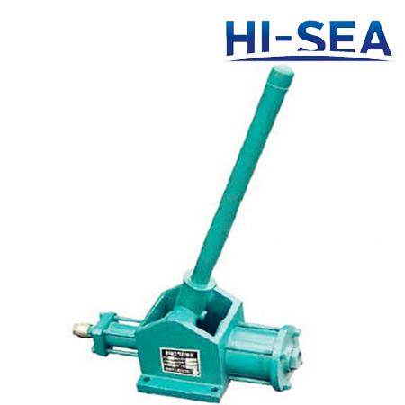 Marine Portable Manual Operation Emergency Air Compressor