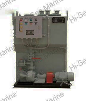 Marine Sewage Treatment Device