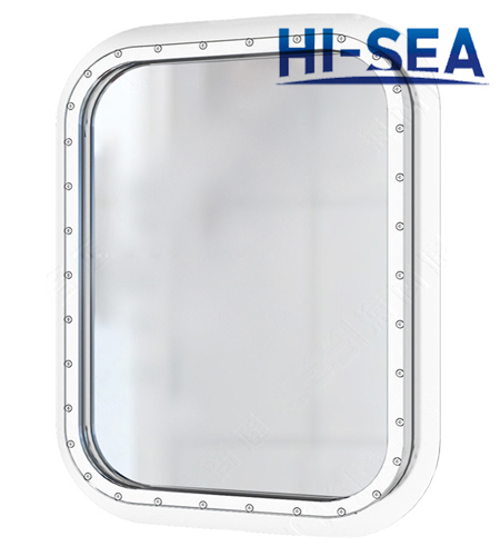 Marine Steel Fixed Rectangular Window