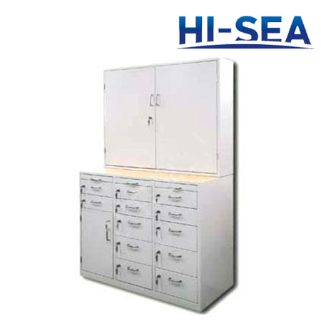 Marine Steel Medicine Locker