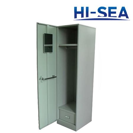 Marine Steel Single Wardrobe