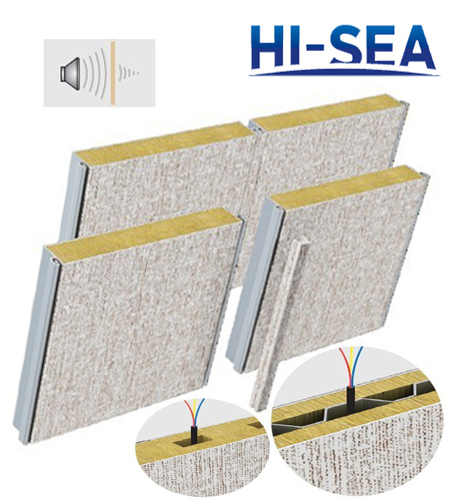 Composite Rock Wool Wall Panel Supplier China Marine