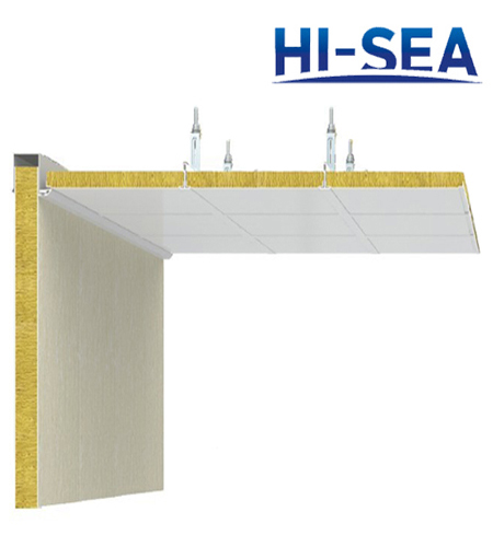 Marine Type F Composite Rock Wool Ceiling