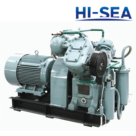 Marine V-type Medium Pressure Water-cooled Air Compressor