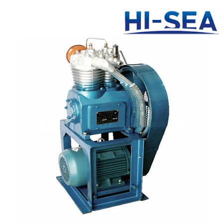 Marine Vertical Medium Pressure Air-cooled Air Compressor