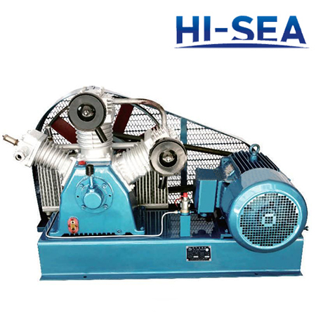 Marine W-type Medium Pressure Air-cooled Air Compressor