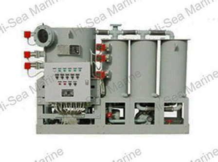 Marine Waste Water Treatment Device