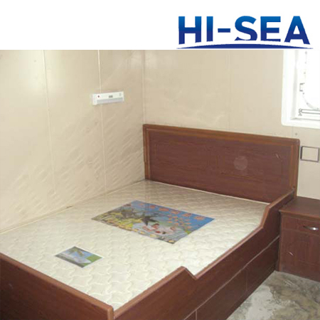 Marine Wood Double Bed
