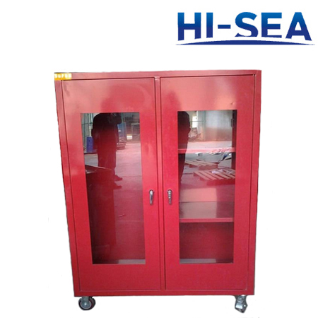 Mobile FRP Firefighting Cabinet