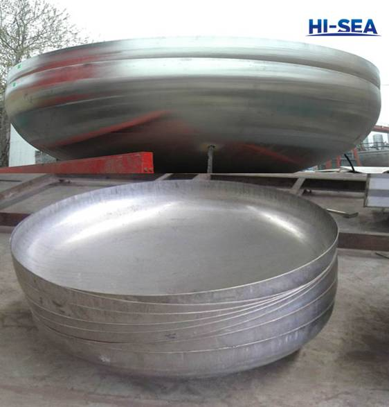 Nickel Alloy Torispherical Head