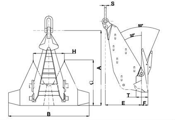 HSk5 Offshore Anchor
