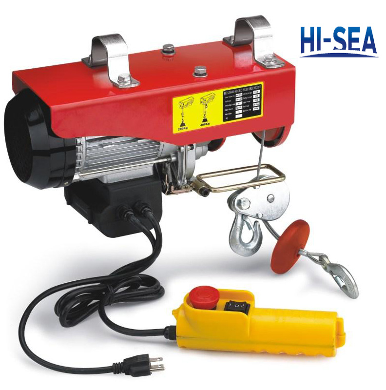 PA Type Mini Electric Wire Rope Hoist Supplier, China Electric ...