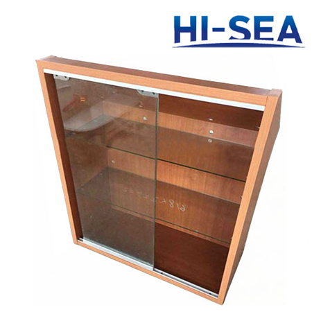Marine Aluminum Honeycomb Book Rack
