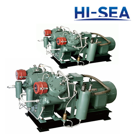Marine Double-row Medium Pressure Water-cooled Air Compressor