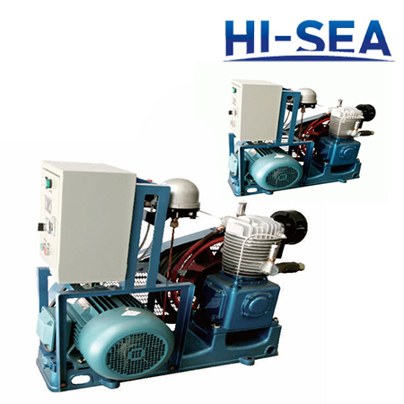 Marine Single-row Medium Pressure Air-cooled Air Compressor