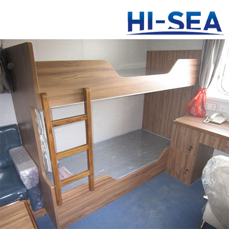 Marine Wood Bunk Bed