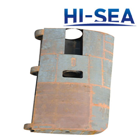 Planar Linkage Flap Rudder