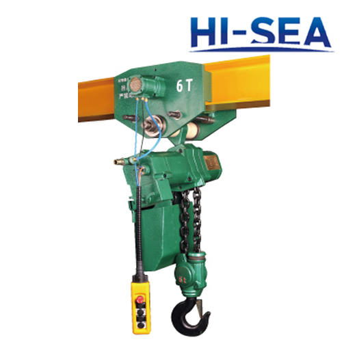 Pneumatic Hoist for Mine