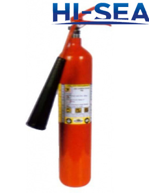Portable 5kg CO2 fire extinguisher