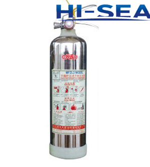 Portable Stainless Steel water based fire extinguisher
