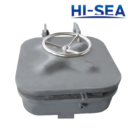 Pressure-Proof Hatch Cover for Ships