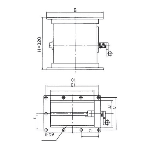 Rectangular Fire Damper