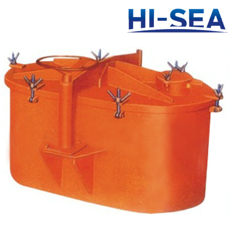 Rotating Oil Tight Hatch Cover