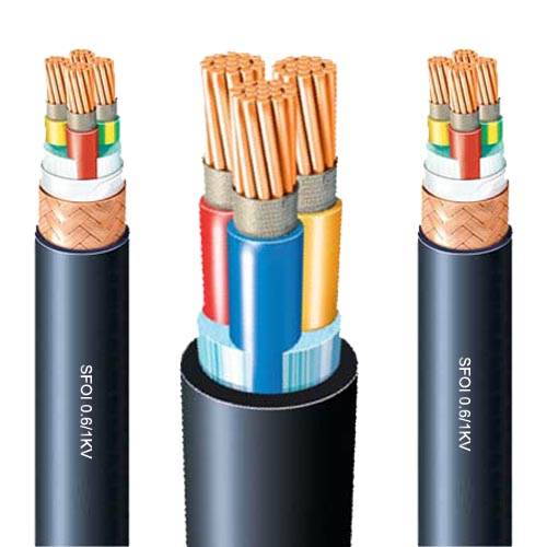 SFOI Fire resistance shipboard power cable 0.6/1KV