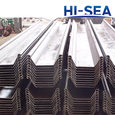 SY295 SY390 Steel Sheet Pile