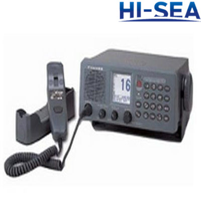 Semi-duplex 25W VHF Radiophone with CH70 Watch Receiver