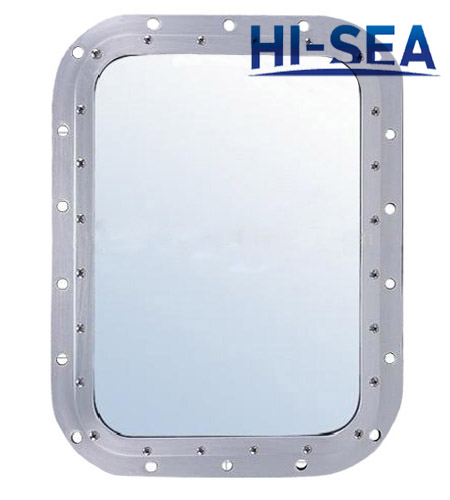 Ship Aluminum Fixed Rectangular Window