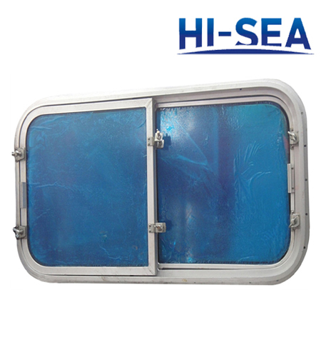 Ship Aluminum Weather-tight Double Sliding Window