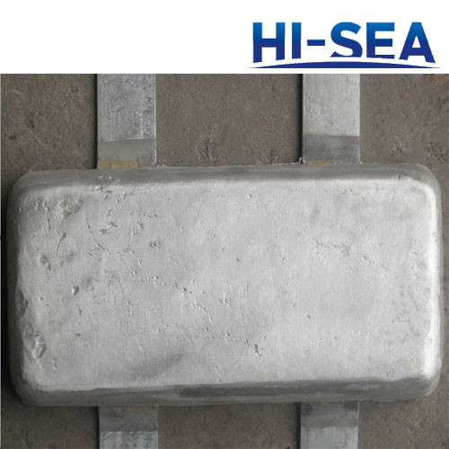 Ship Hull Aluminum Anode
