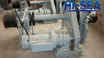 Single El-combined Windlass Mooring Winch