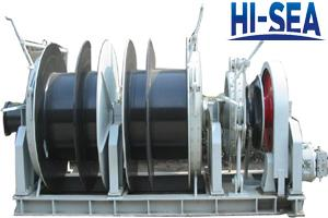 Single Hy-combined Windlass Mooring Winch