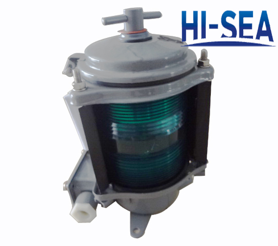 Single-deck Stainless Steel Starboard Light