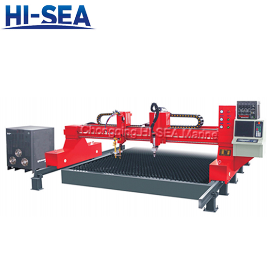 High performance CNC precision/Small Hole plasma cutting machine
