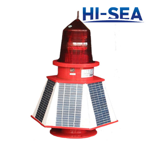 Solar LED Buoy Light Navigation Obstruction Mark Light