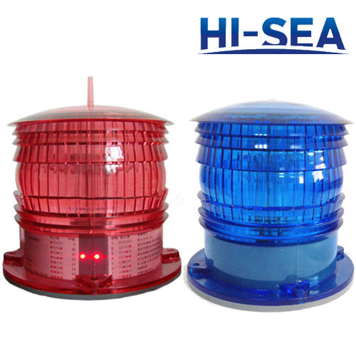 Solar Powered Navigation Warning Light