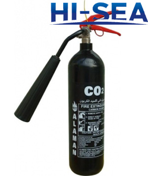 Stainless Steel Carbon Dioxide Fire Extinguisher
