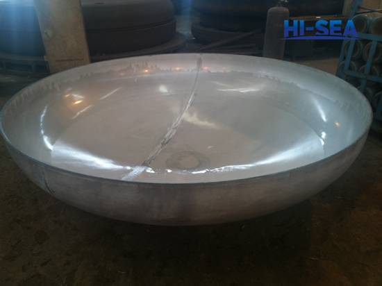 Stainless Steel Elliptical Head