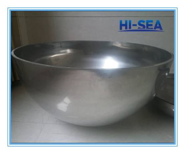 Stainless Steel Hemispherical Head